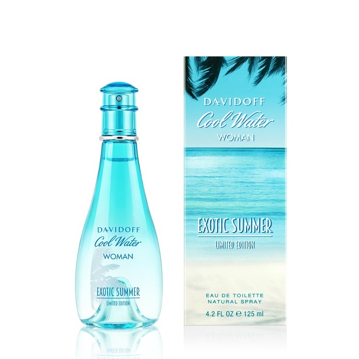 Cool Water Woman Exotic Summer от Davidoff купить женские духи