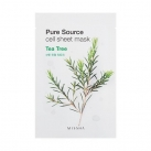 Маска для лица листовая с чайным деревом Pure Source Cell Sheet Mask (Tea Tree)
