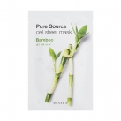 Маска для лица листовая с бамбуком Pure Source Cell Sheet Mask (Bamboo)