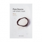 Маска для лица листовая с рисом Pure Source Cell Sheet Mask (Rice)