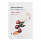 Маска для лица листовая с маслом ши Pure Source Cell Sheet Mask (Shea Butter)