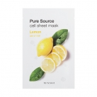 Маска для лица листовая с манго Pure Source Cell Sheet Mask (Mango)