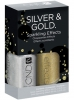 Набор лаковых покрытий Silver & Gold (Effects №569 - 9,8 мл & Effects №570 - 9,8 мл) от CND