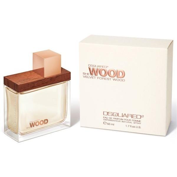 Купить She Wood Velvet Forest Wood, DSQUARED2