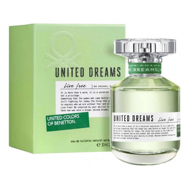 United Dreams Live Free, UNITED COLORS OF BENETTON  - Купить