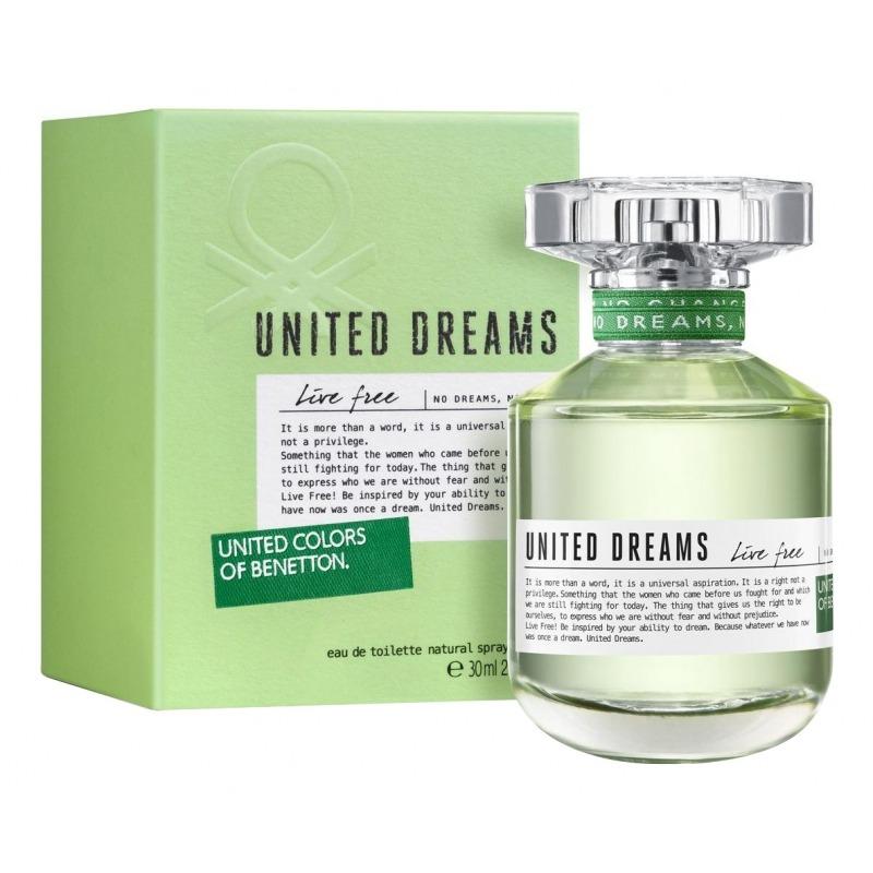 Купить United Dreams Live Free, UNITED COLORS OF BENETTON