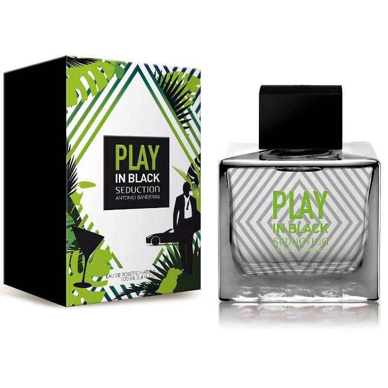 Купить Play In Black Seduction for Men, Antonio Banderas