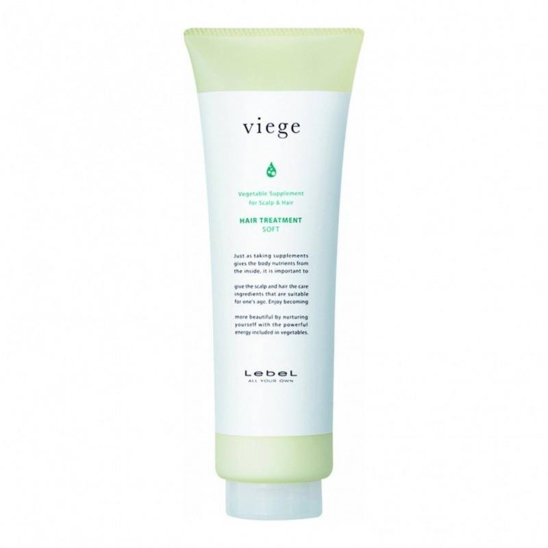 Купить Маска для волос, Viege Hair Treatment Soft, Lebel Cosmetics