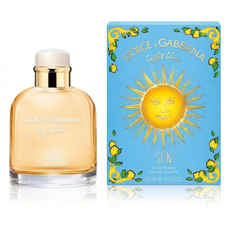 Light Blue Sun Pour Homme DOLCE & GABBANA