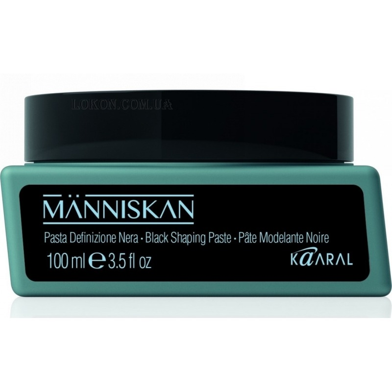 Паста для волос Manniskan Black Shaping Paste фото