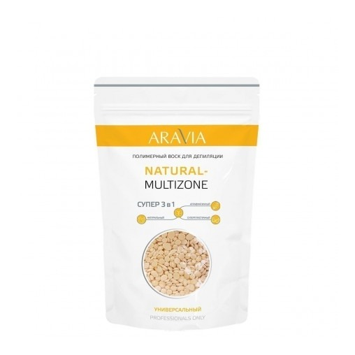 Воск для депиляции, Natural-Multizone, Aravia Professional  - Купить
