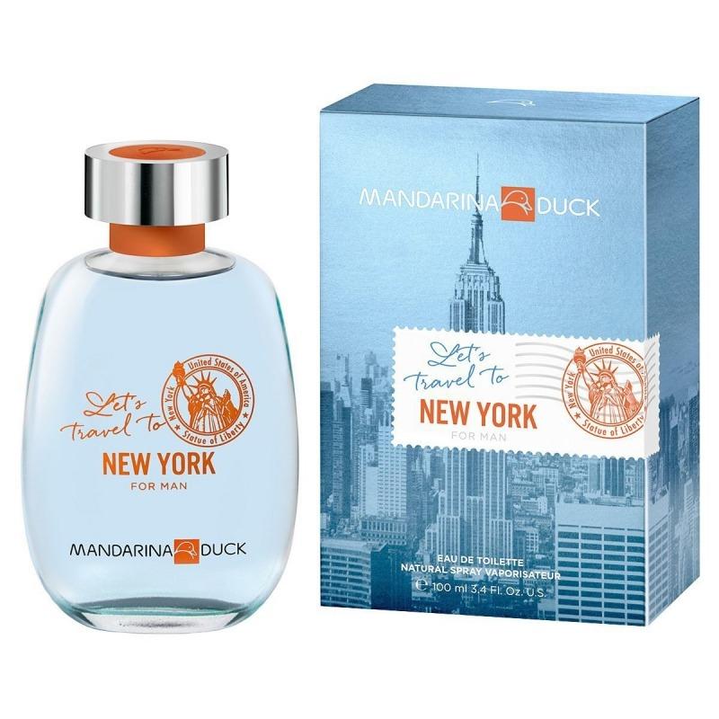 Купить Let's Travel To New York For Man, Mandarina Duck