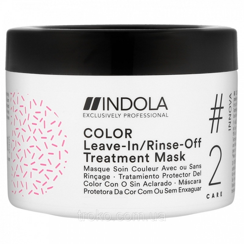 Маска для волос, Color Leave-in/Rinse-Off, Indola  - Купить