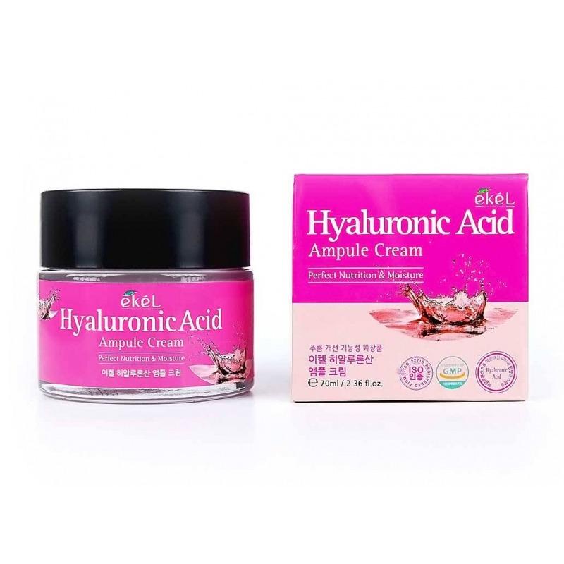 Крем для лица, Hyaluronic Acid Ampule, Ekel  - Купить