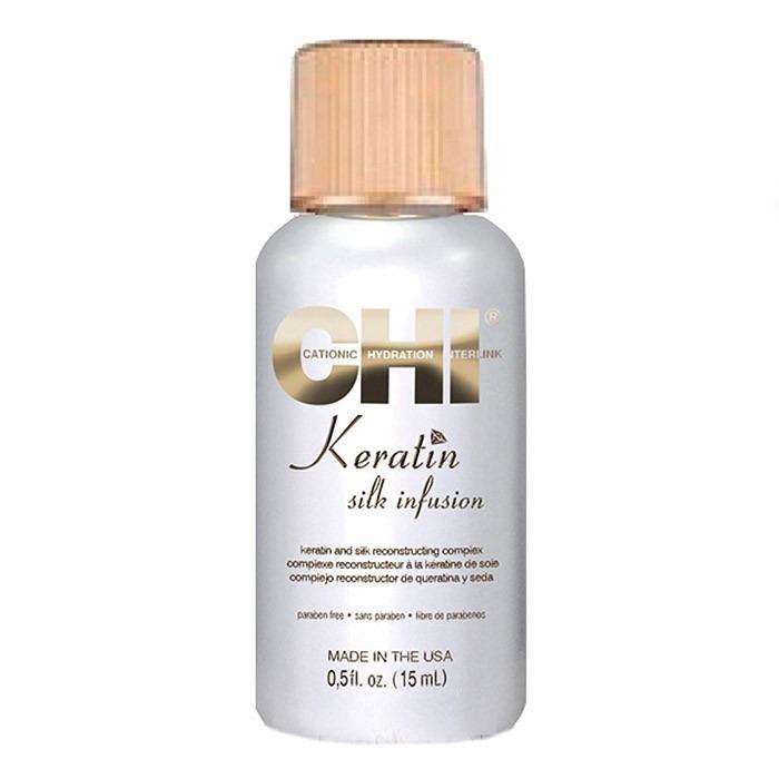 Гель для волос «Шелковая инфузия» Keratin Silk Infusion фото