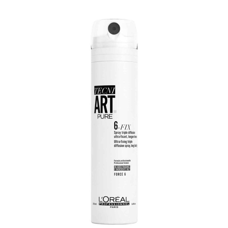 Купить Спрей для волос, Tecni Art 6-Fix Pure, Loreal Professionnel