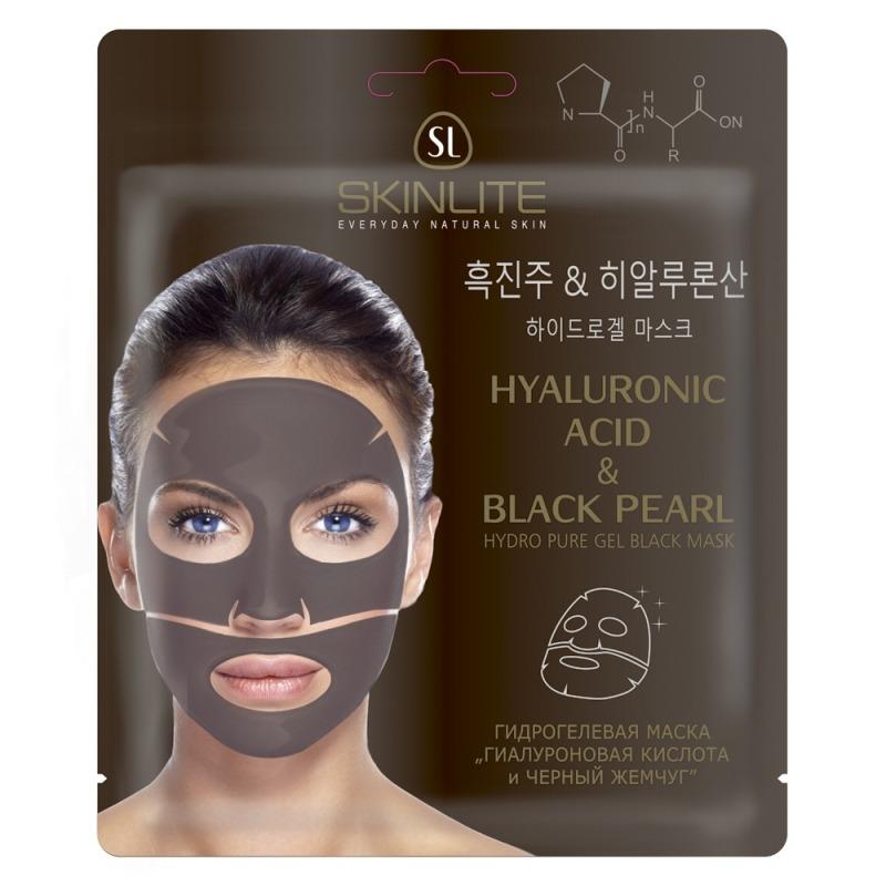 Купить Маска для лица, «Гиалуроновая кислота и черный жемчуг», Skinlite