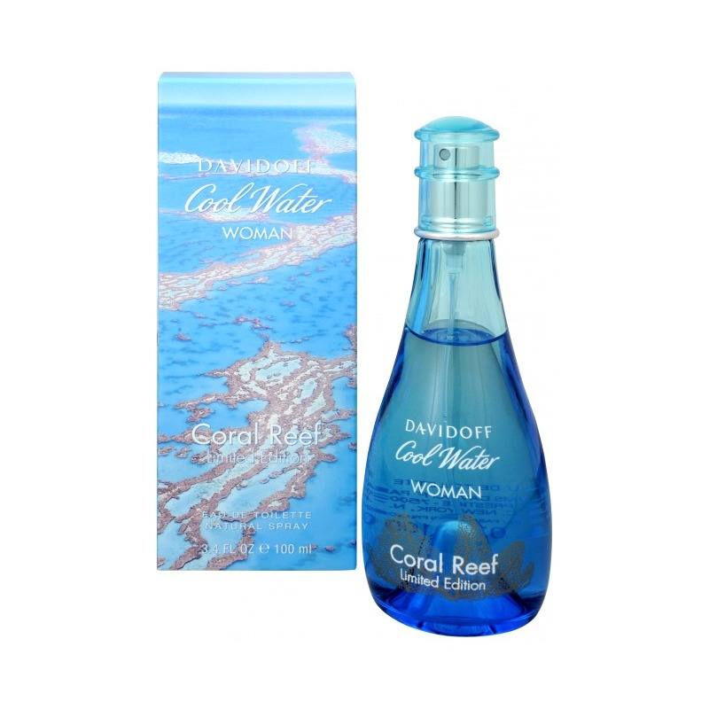 Купить Cool Water Woman Coral Reef Edition for Woman, Davidoff