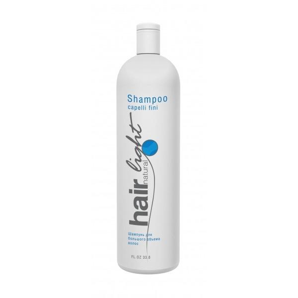 Hair Natural Light Shampoo Capelli Fini