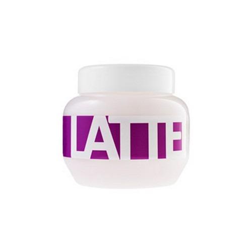 Маска для поврежденных, химически обработанных волос «Латте» Latte Hair Mask With Milk Protein фото