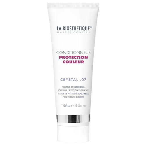 Кондиционер для окрашенных волос (холодные оттенки блонда) Conditioner Protection Couleur Crystal 07, La Biosthetique  - Купить
