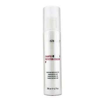 Шампунь для окрашенных тонких волос Protection Couleur F, La Biosthetique  - Купить