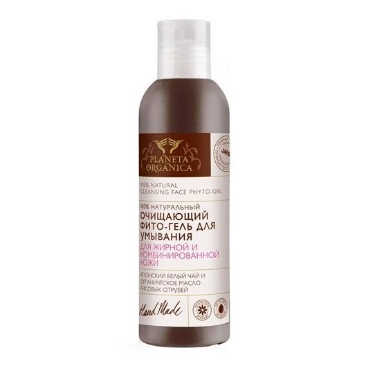 Купить Фито-гель очищающий для умывания для жирной и комбинированной кожи, Planeta Organica