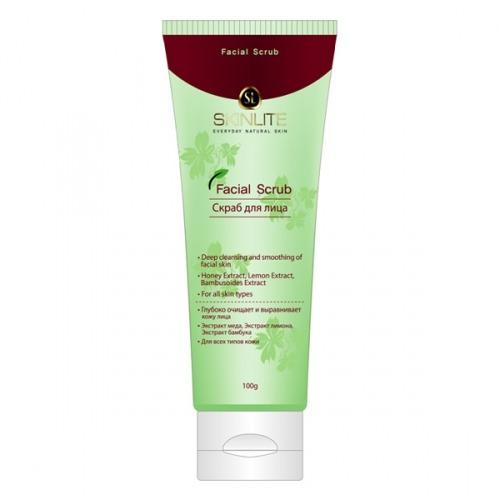 Купить Скраб для лица для всех типов кожи Facial Scrub, Skinlite